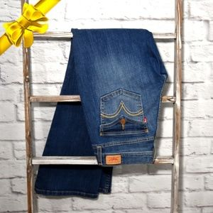 Levis 524 Low Rise Bootcut Jeans 9M #j8w06p01o13y1